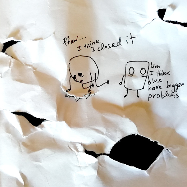 Drawing in Monsters&Wonders that lie Beyond by Robro