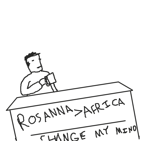 First panel in Toto Discourse drawn in our free online drawing game