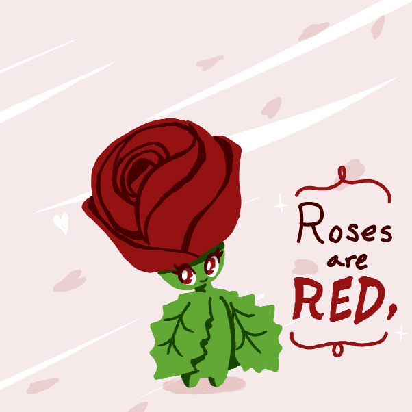 Drawing in A Humble Poem by xavvypls