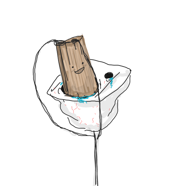 Drawing in Imma eat a wood 3 by Robro