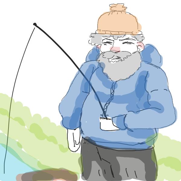 Liked webcomic fishing