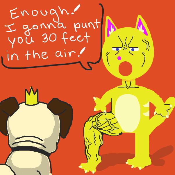 Drawing in Smug Pug by nooz