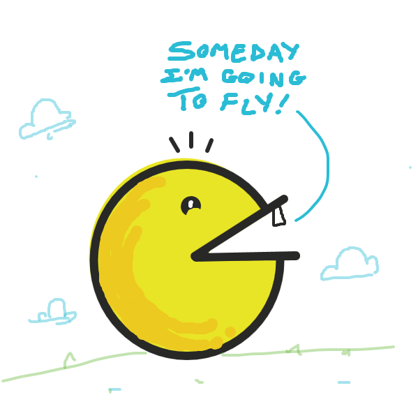birb wants to be a real bird - Online Drawing Game Comic Strip Panel by jamdaddy