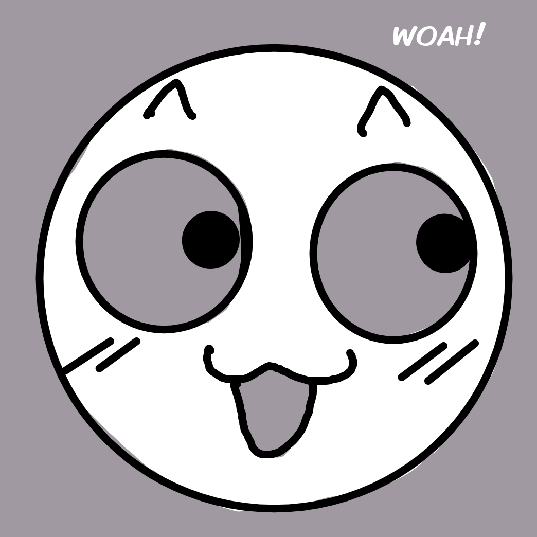 First panel in Woot drawn in our free online drawing game