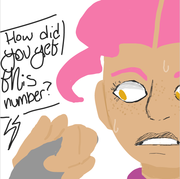 uhhhhhhh - Online Drawing Game Comic Strip Panel by DistantEggSong