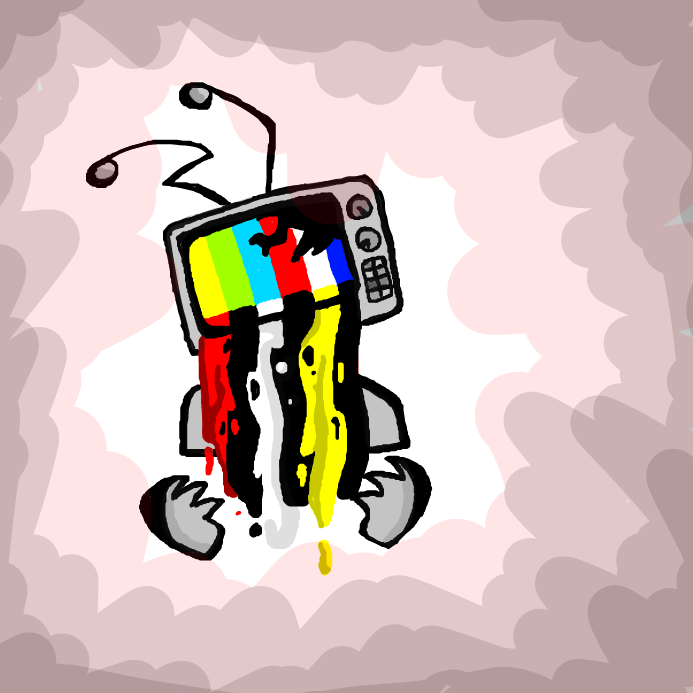 Tv heads <33 - Online Drawing Game Comic Strip Panel by WreckTangle
