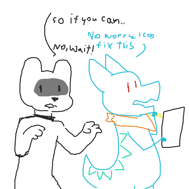 I'm sure everything will be fine - Online Drawing Game Comic Strip Panel by Izzaro21