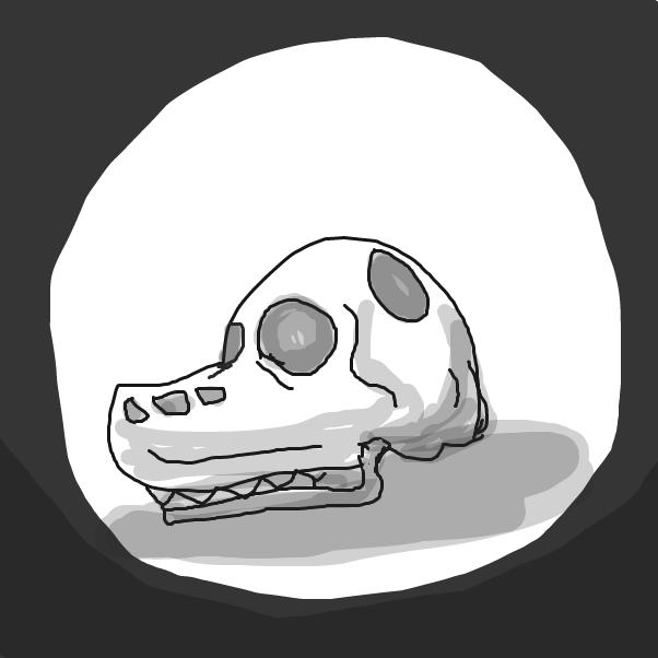 Drawing in Skulls  by Izzaro21