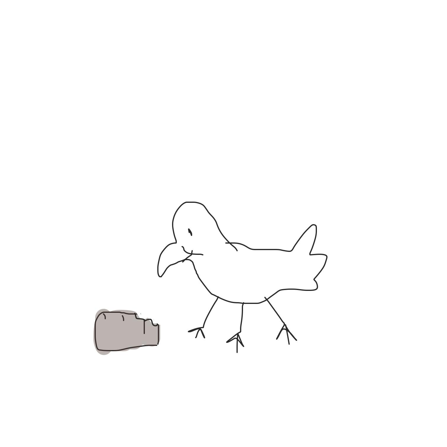 Drawing in Derek Duck by yogiibear