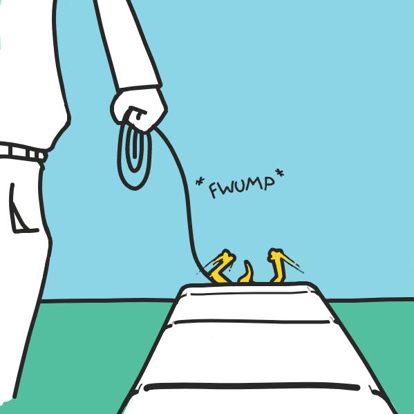 . . . - Online Drawing Game Comic Strip Panel by Cake Emoji