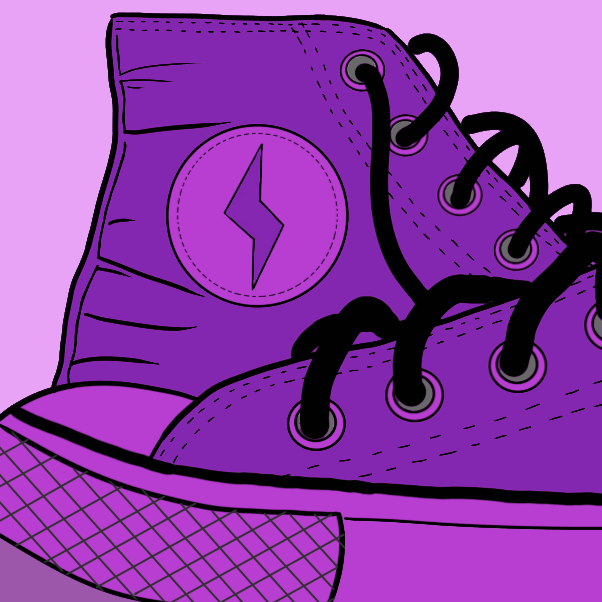 Drawing in Sneaks! by WizardCroissant