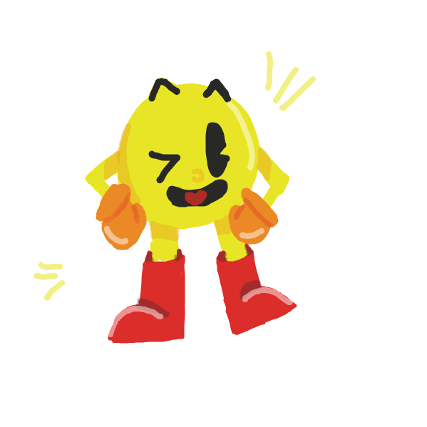Drawing in Pac-Man Fever #1 by pastelgoosey