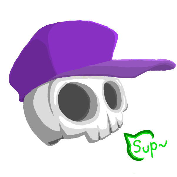 Drawing in Skulls  by Jyke The Person