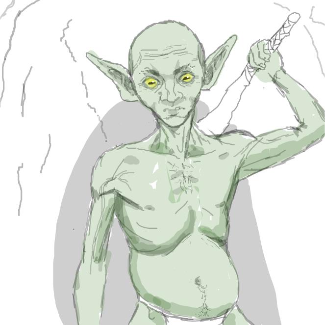 Drawing in Goblin by Karosh