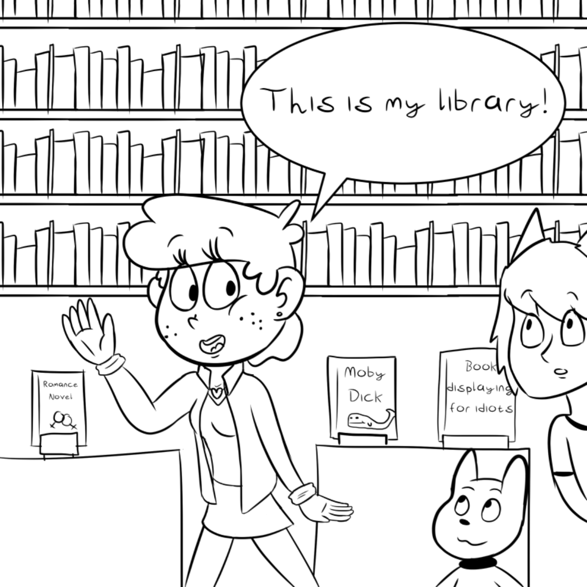 First panel in Tour drawn in our free online drawing game