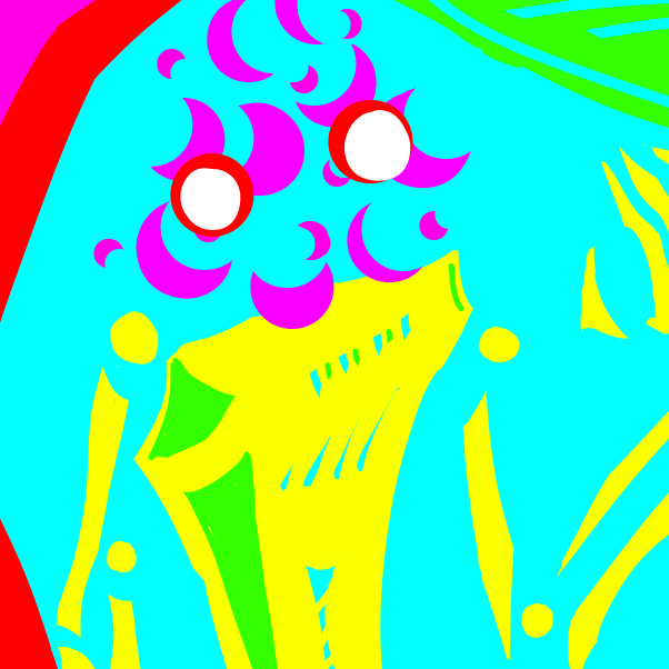 Drawing in Eyestrain art by Robro