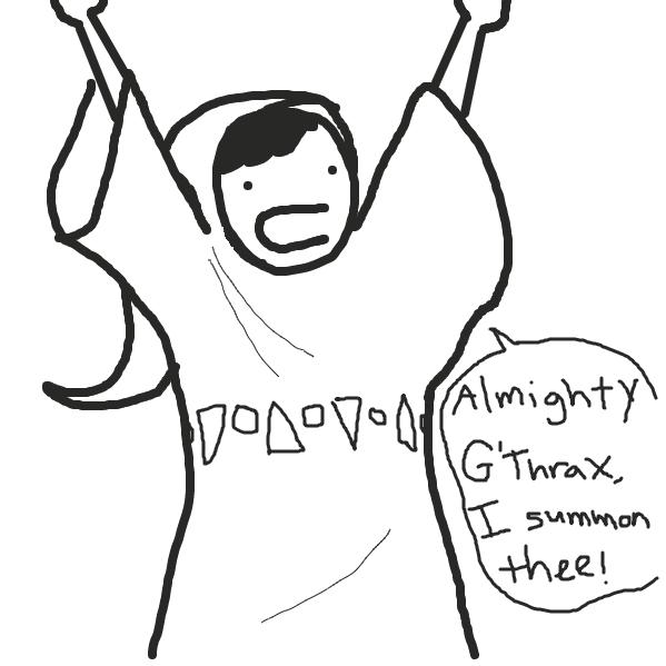 Liked webcomic The Summoning