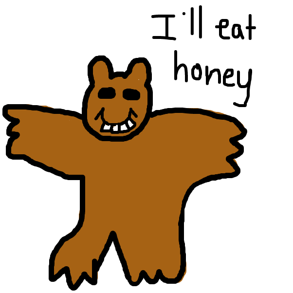 Drawing in Barry Bear by SteliosPapas
