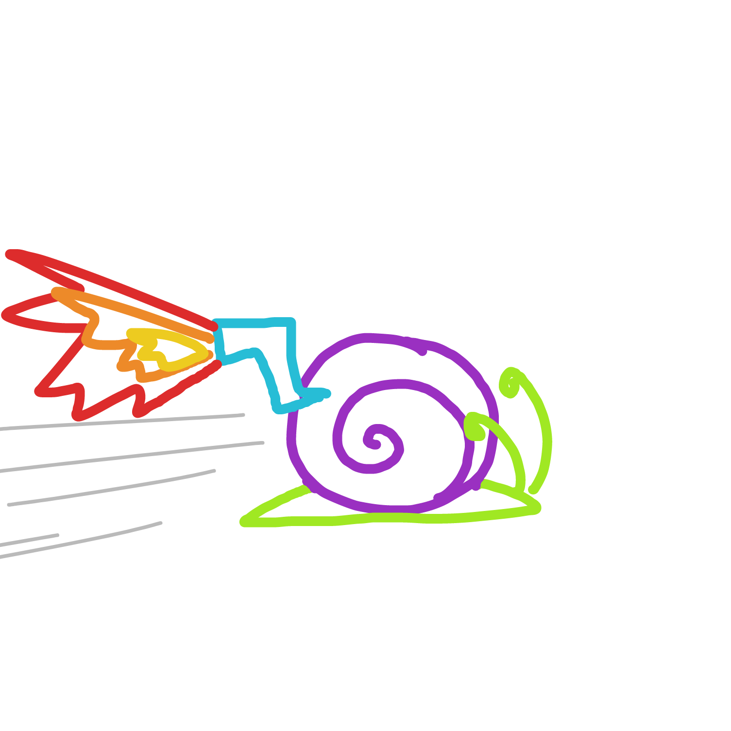 Drawing in snail go brrrrr by dummythicc