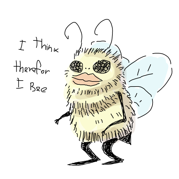 Drawing in Bees: The True Story by Robro
