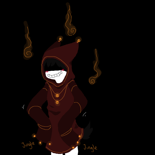 Drawing in What would happen if your oc wore the LIFE cloak? by Nephtys