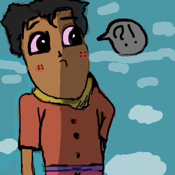 First panel in why drawn in our free online drawing game