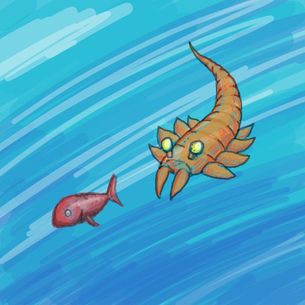 First panel in Evolve this animal drawn in our free online drawing game