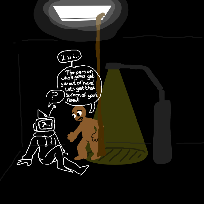 - Online Drawing Game Comic Strip Panel by WreckTangle
