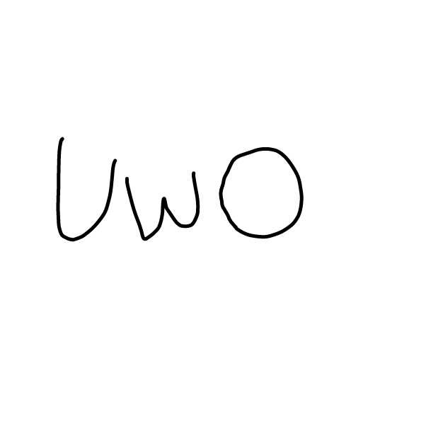 First panel in UwO what's dis? drawn in our free online drawing game