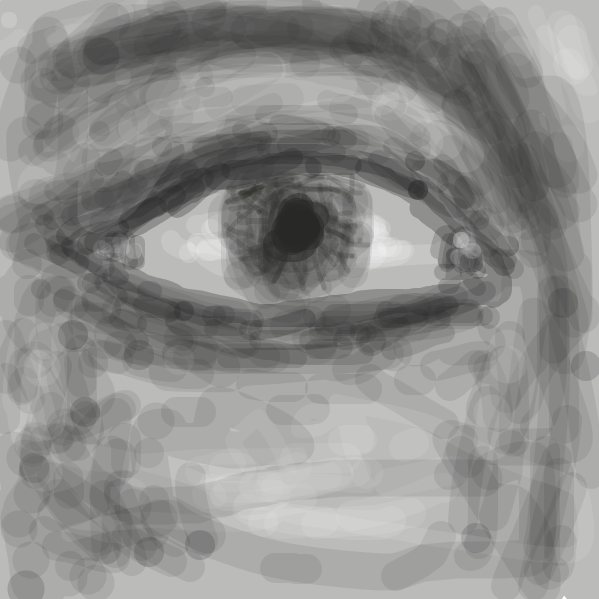 Drawing in Eye by Fireking1