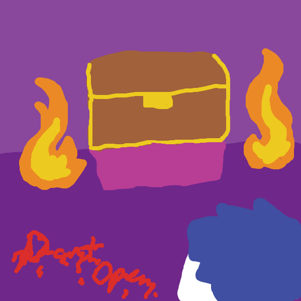 Liked webcomic Don't open the box!