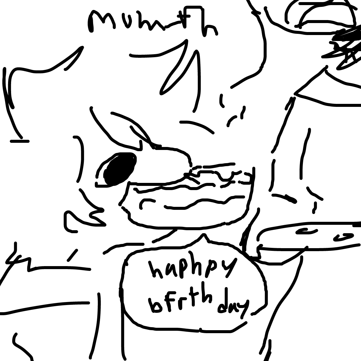 Drawing in Birthday! by Dragonblitzx