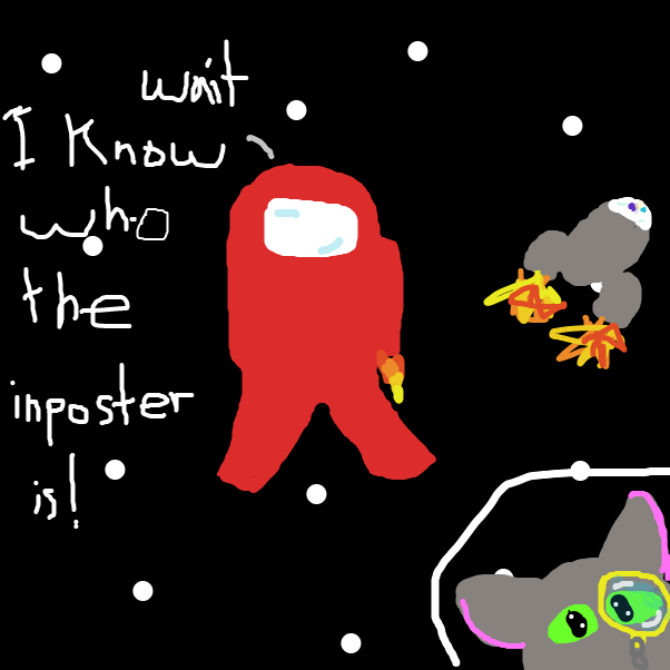 Aw man he framed me I get him back one day ONE DAY! - Online Drawing Game Comic Strip Panel by DoodleBug