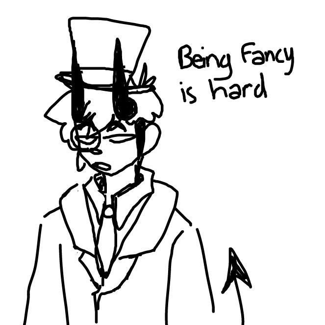 Drawing in Fancy  by WreckTangle