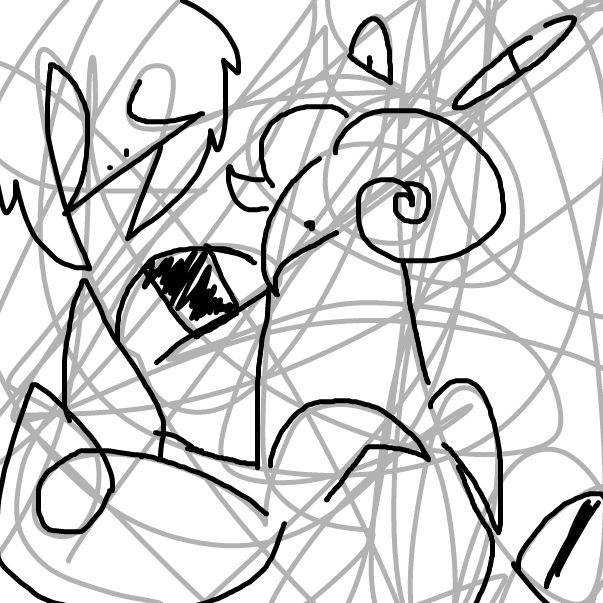 drawing with scribbles - Online Drawing Game Comic Strip Panel by RandomDoodler