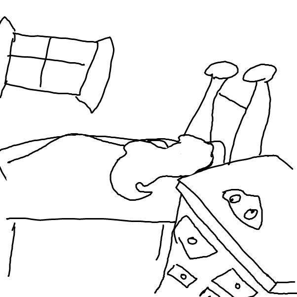 First panel in my pet rock Fred  drawn in our free online drawing game