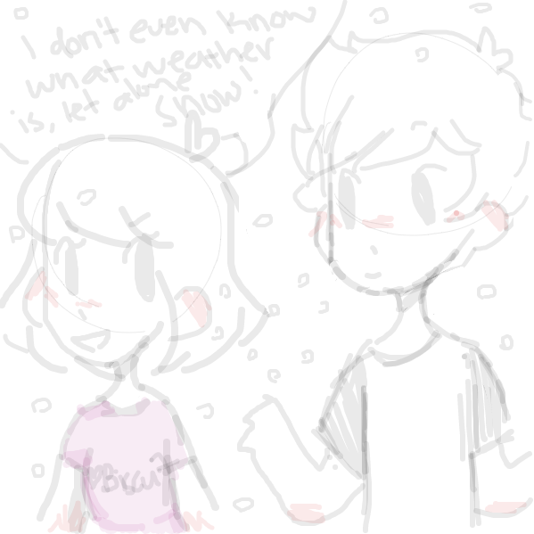 ew this is really messy lol - Online Drawing Game Comic Strip Panel by rockinashy
