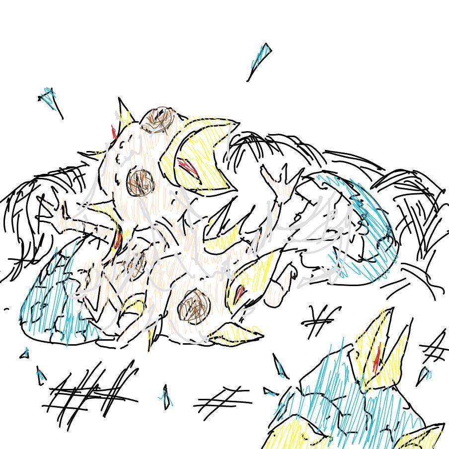 Drawing in Beaks! by unyu