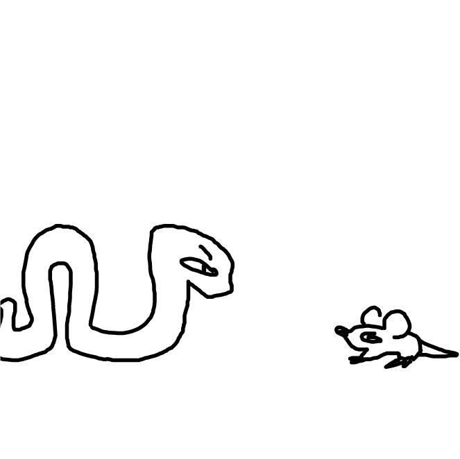 Drawing in rerwe  by WreckTangle