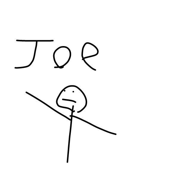 Drawing in Who's joe version 3! by Mr. Mint