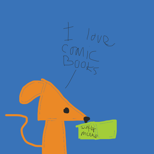 Plot twist: it was a comic book all along - Online Drawing Game Comic Strip Panel by Drawception guy
