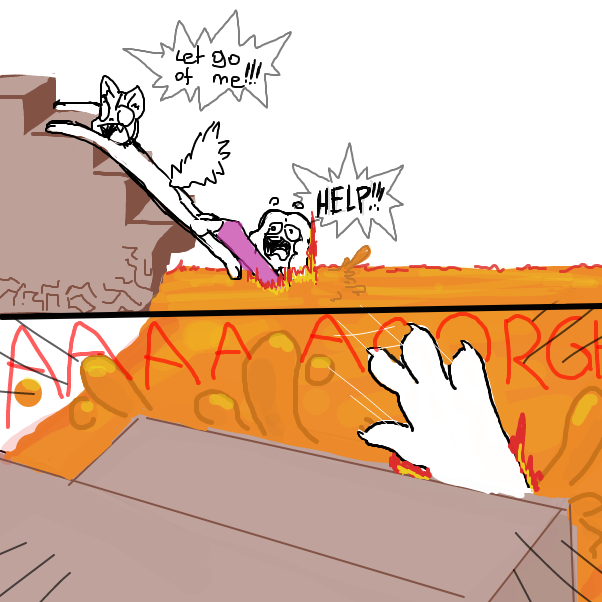 Drawing in *yoda death sound* by Sluggishfella