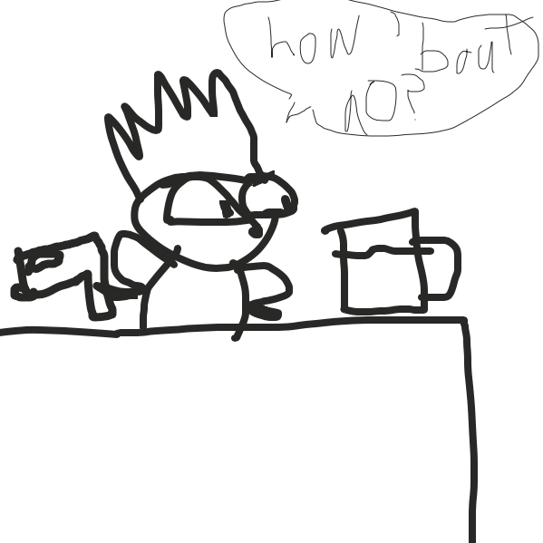Sass 100 - Online Drawing Game Comic Strip Panel by Drawception guy