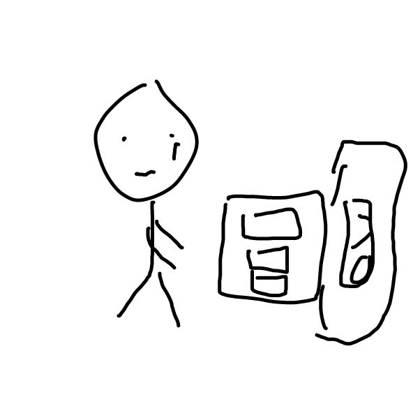 First panel in stickman things drawn in our free online drawing game