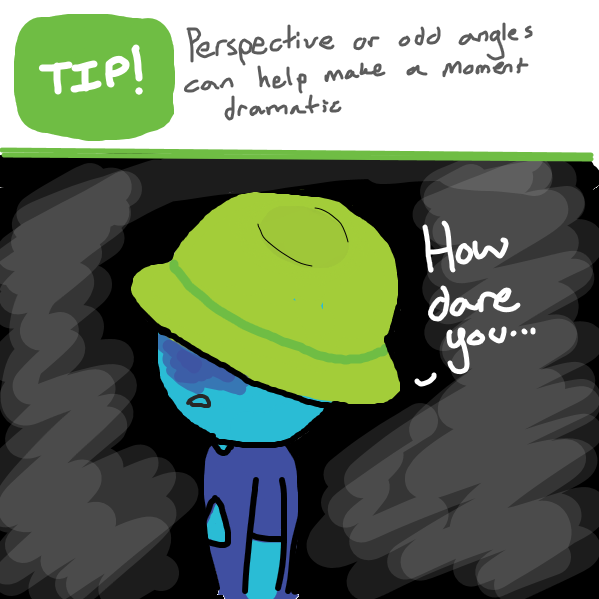 Drawing in 5 panels? what can i do? by Sketchy Design