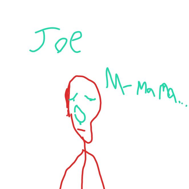 Drawing in Who's Joe 2.0 by Mr. Mint