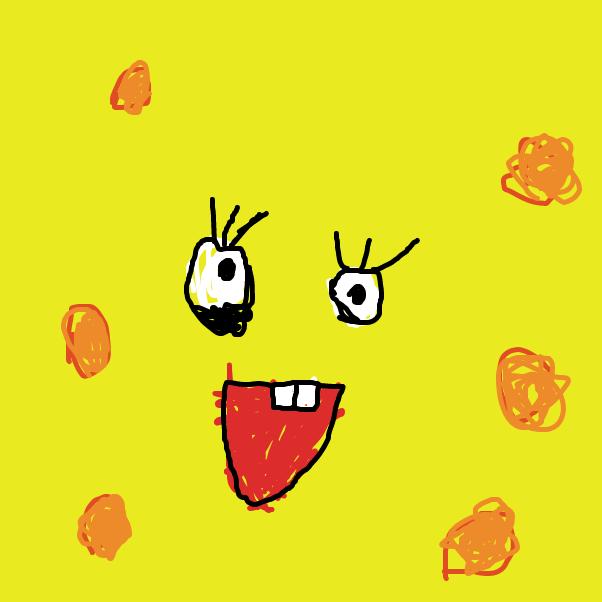 Drawing in Spongebob Square pants by glebtaken