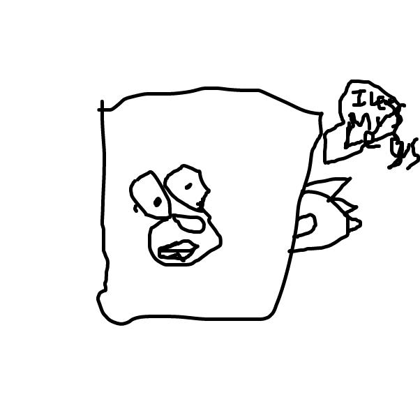 Drawing in not funny by glebtaken