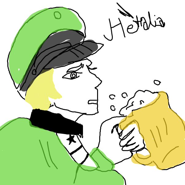 First panel in Good Quality art at 3 am drawn in our free online drawing game
