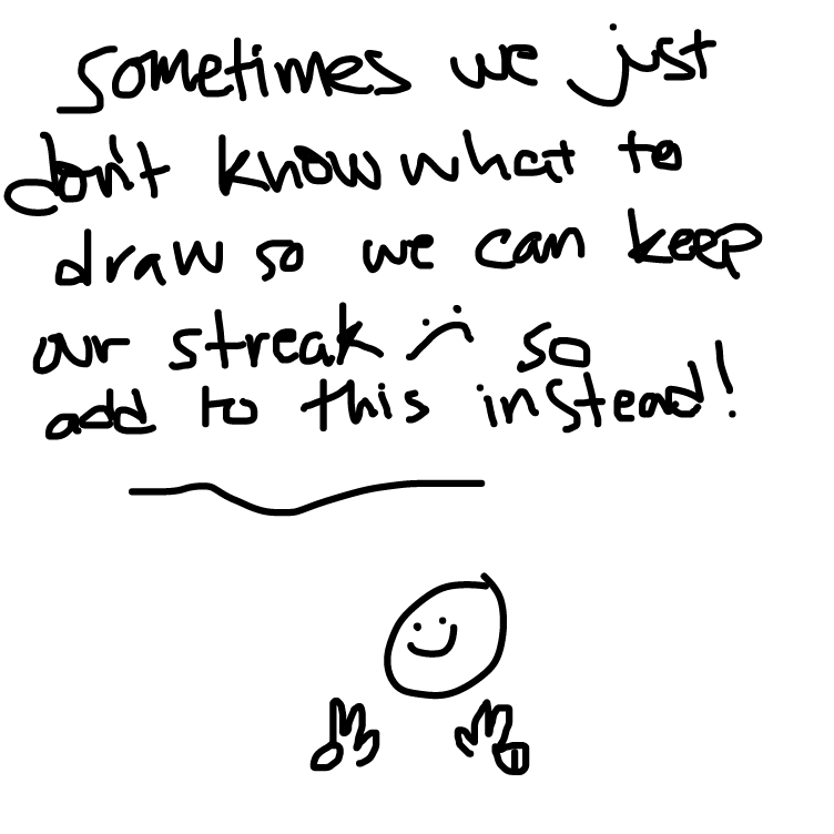First panel in free streak! (add to keep ur streak) drawn in our free online drawing game